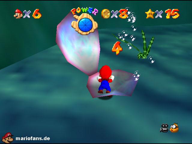 Super Mario 64 Komplettlösung Piratenbucht Panik