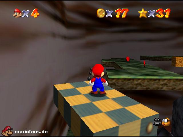 Super Mario 64 Komplettlösung Grüne Giftgrotte