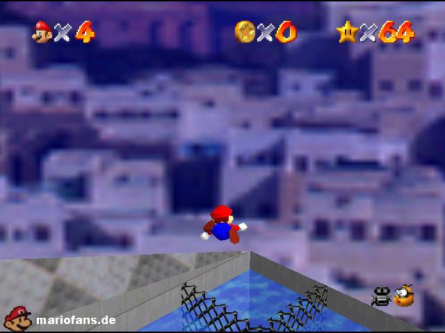 Super Mario 64 Komplettlösung Atlantis Aquaria