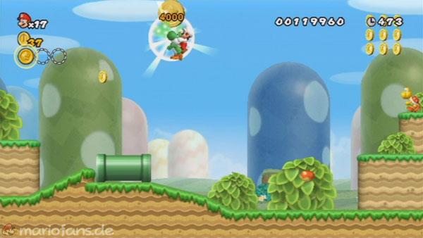 New Super Mario Bros Wii Komplettlösung Welt 1