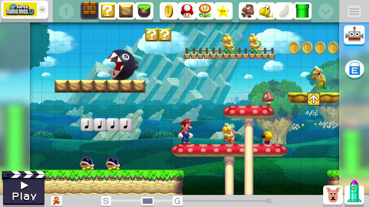Mario Maker // Mario in der Clown-Kutsche und Bowser Jr. ???