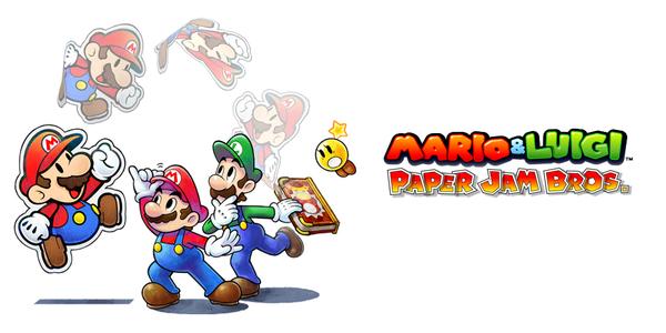 E3 2015 // Mario & Luigi: Paper Jam Bros.