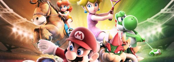 Gewinnspiel: Mario Sports Superstars