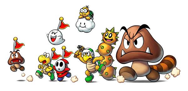 Mario & Luigi: Superstar Saga + Bowsers Schergen im Handel erhältlich