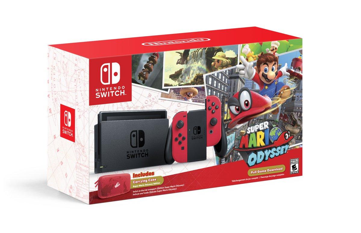 Ab dem 27.Oktober: Super Mario Odyssey-Bundle