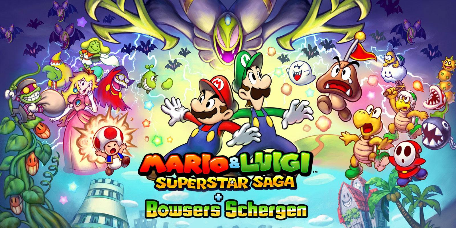 Gewinnspiel – 2x Mario & Luigi: Superstar Saga & Bowser's Schergen