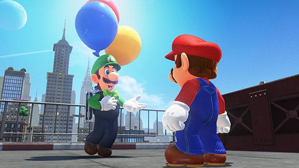 Update für Super Mario Odyssey