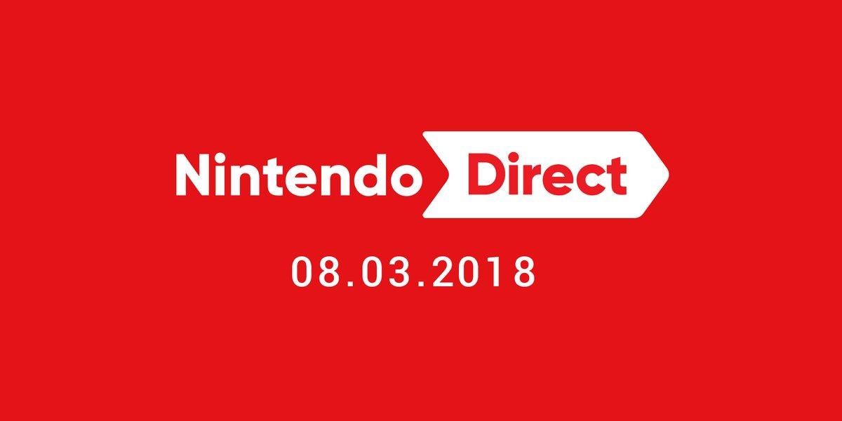 Nintendo Direct – 8. März 2018!!