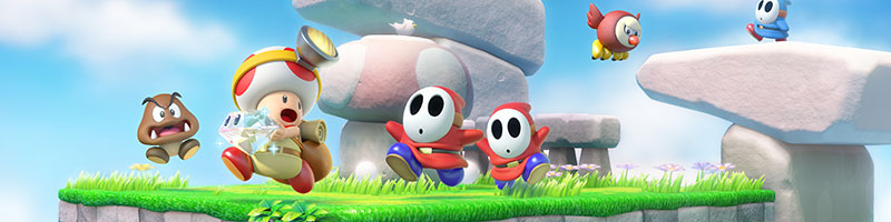 Captain Toad erobert Nintendo Switch und 3DS