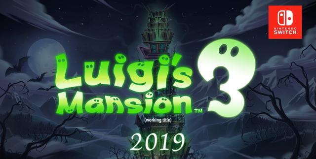 Ankündigung   Luigi's Mansion 3 (Arbeitstitel)