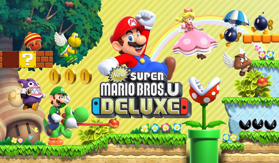 Ankündigung | New Super Mario Bros. U Deluxe
