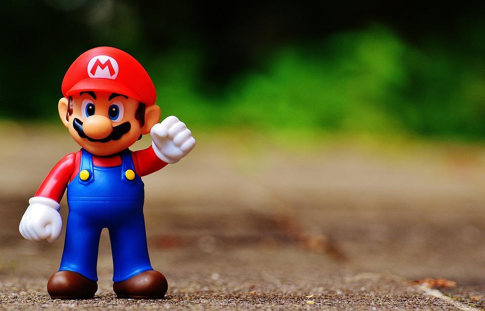 Super Mario inspiriert und motiviert